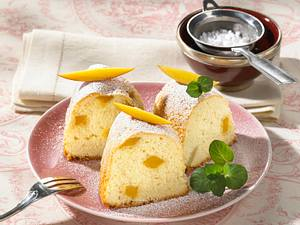 Zitronen-Mango-Kuchen Rezept