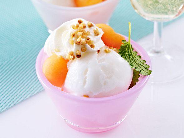 Zitronen-Melonen-Becher Rezept