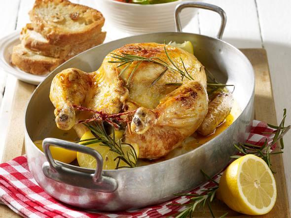Zitronen-Rosmarin-Hähnchen Rezept
