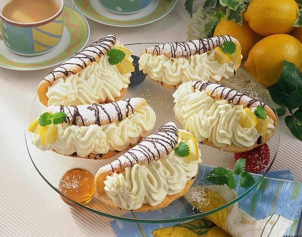 Zitronen-Sahne-Omeletts Rezept
