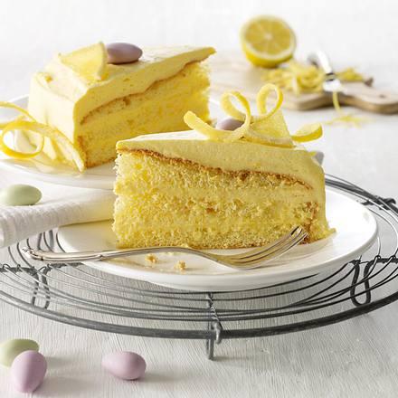 Zitronencreme-Torte Rezept