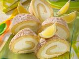 Zitronenrolle (Diabetiker) Rezept