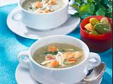 Zucchini-Creme-Suppe Rezept