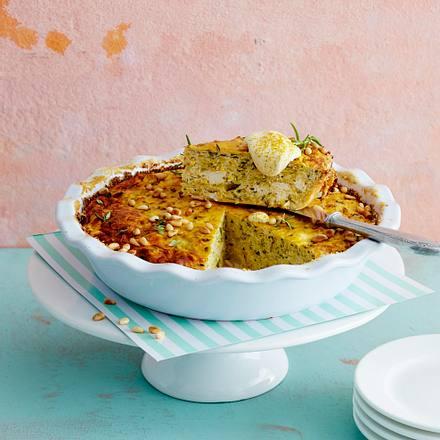 Zucchini-Feta-Tarte Rezept
