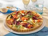 Zucchini-Garnelen-Quiche Rezept