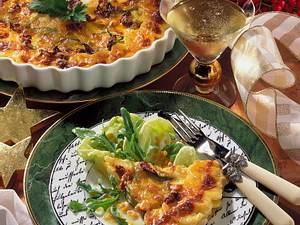 Zucchini-Kartoffel-Gratin Rezept