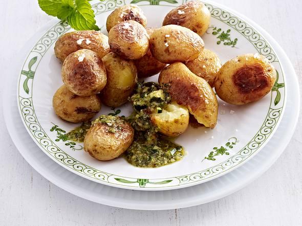 Zucchini-Minz-Pesto Rezept