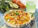 Zucchini-Möhren-Kartoffel-Gratin Rezept