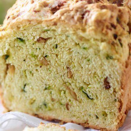 Zucchini-Pilz-Brot Rezept