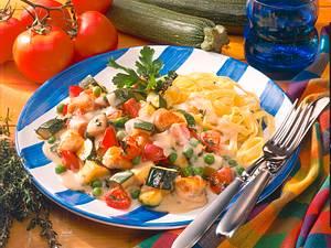 Zucchini-Puten-Ragout Rezept