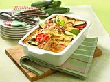 Zucchini-Schnitzel-Lasagne Rezept