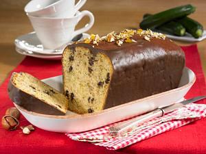 Zucchini-Schoko-Kastenkuchen Rezept
