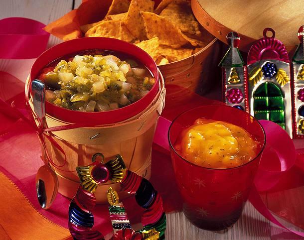 Zweierlei Dips zu Tacos Rezept