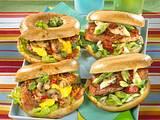 Zweierlei Steak-Burger Rezept