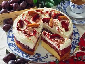 Zwetschen-Mascarpone-Torte Rezept