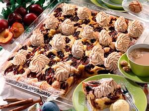 Zwetschen-Zimtbaiser-Kuchen Rezept