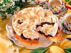 Zwetschgen-Baiser-Torte Rezept