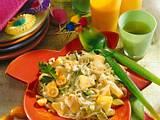 Zwiebel-Ananas-Porree-Salat Rezept