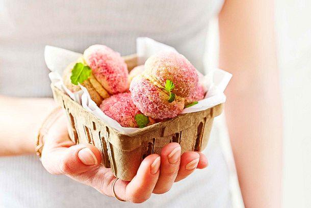 """Nice to sweet you""- Pfirsich-Nüsschen Rezept"