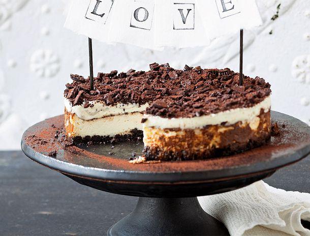Oreo Milchcreme Kuchen Rezept Lecker