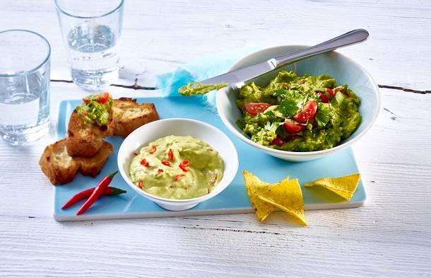 Avocado Chili Aioli Und Guacamole Mit Tomate Rezept Lecker