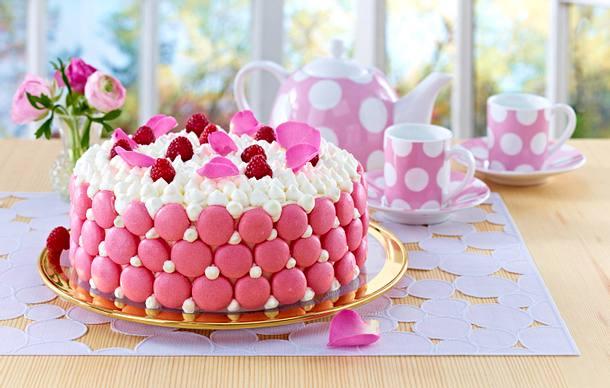 Macaron Cookie Torte Rezept Lecker