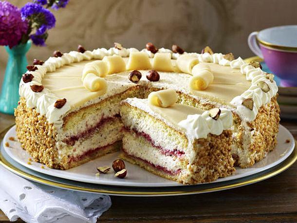 Lubecker Marzipan Torte Rezept Lecker
