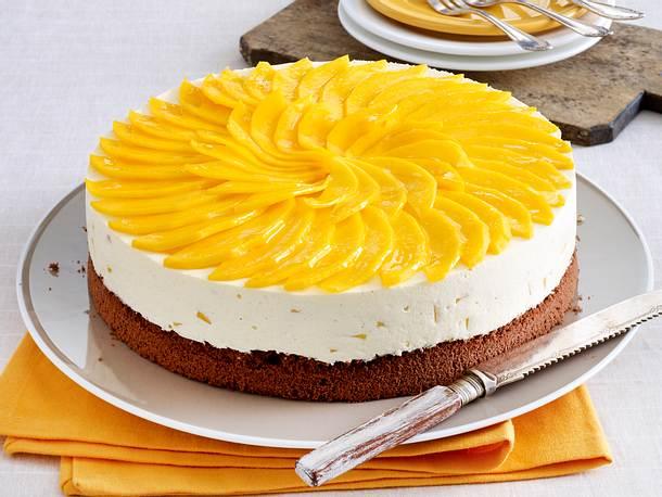 Schoko Mango Torte Rezept Lecker