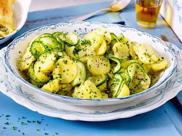 Süddeutscher Kartoffelsalat Rezept Lecker
