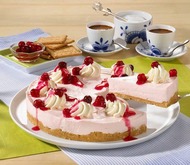 Cranberry Creme Kuchen Rezept Lecker