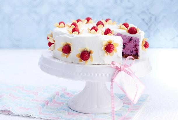 Heidelbeer-Joghurt-Torte Rezept | LECKER