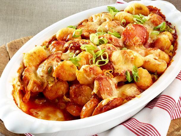 Currywurst Gnocchi Auflauf Rezept Lecker