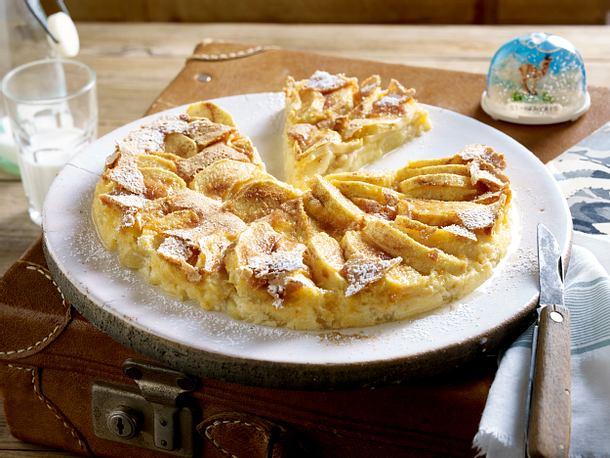 Apfel Pfannkuchen Matafan Aux Pommes Rezept Lecker