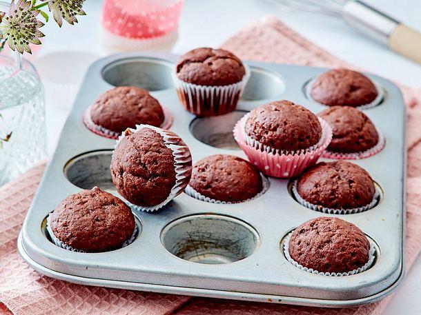 Mini Schoko Muffins Rezept Lecker
