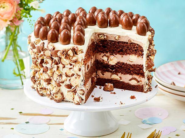 Schoko Bon Torte Rezept Lecker