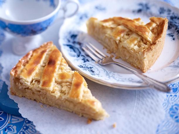 Apfelkuchen Mit Marzipan Rezept Lecker