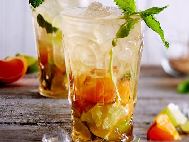 Mandarinen Mojito Rezept Lecker