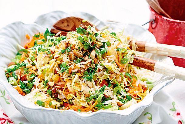 Asiatischer Kraut Reis Salat Rezept Lecker