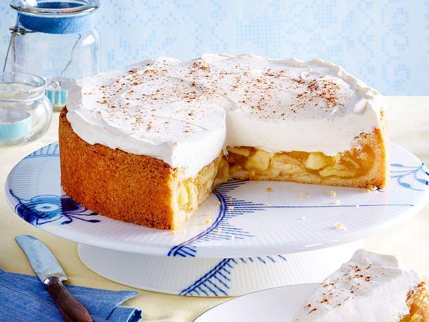 Apfel Schmand Torte Rezept Lecker