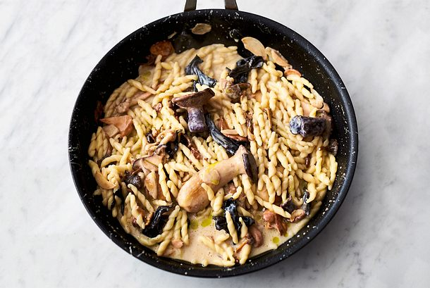 Jamies Pasta Mit Pilzen Und Knoblauch Rezept Lecker