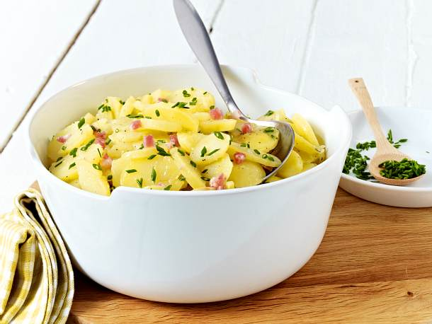 Klassischer Kartoffelsalat Mit Brühe Rezept Lecker