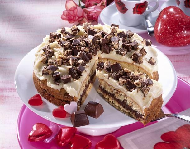 Kusschen Torte Rezept Lecker