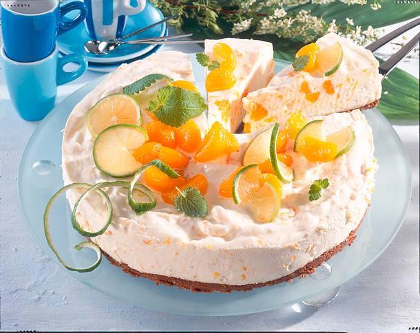 Fruchtige Mandarinen Quark Torte Rezept Lecker