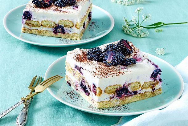 Brombeer Tiramisu Kuchen Rezept Lecker