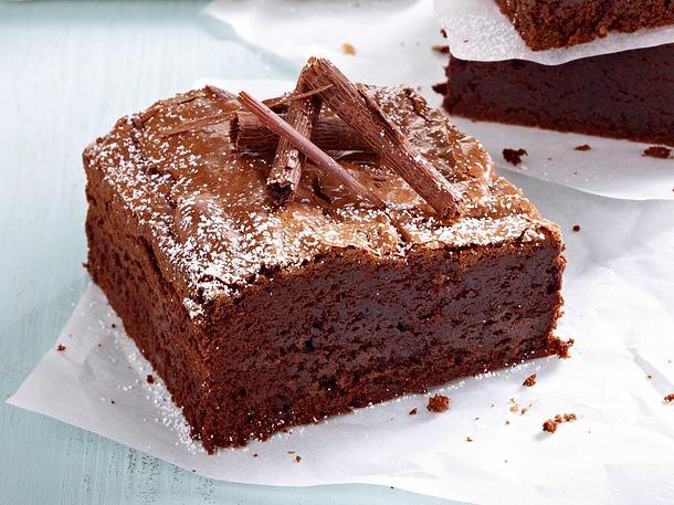 Klassischer Brownie Rezept Lecker