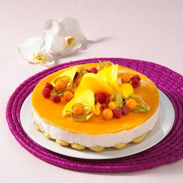 Mango Joghurt Torte Rezept Lecker