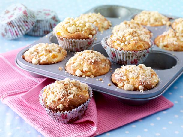 Aprikosen Quark Muffins Mit Streuseln Rezept Lecker