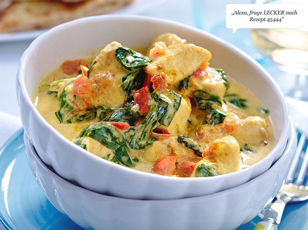 Hähnchen Curry Rezept Lecker