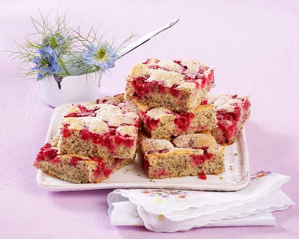 Mohn Johannisbeer Kuchen Rezept Lecker