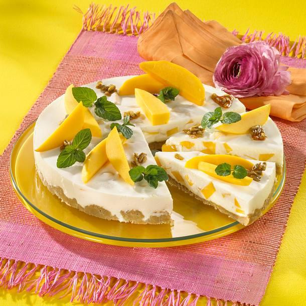 Mango Joghurt Kuchen Rezept Lecker